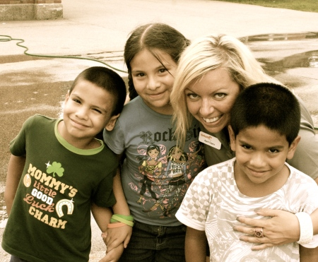 April at SpringHill with Her Kids