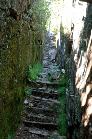 Steps in Lake Superior Provincial Park